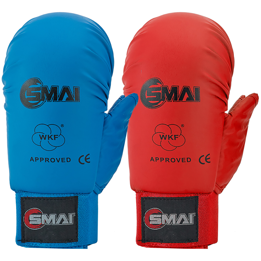 Image of SMAI WKF Approved Gloves With Thumb