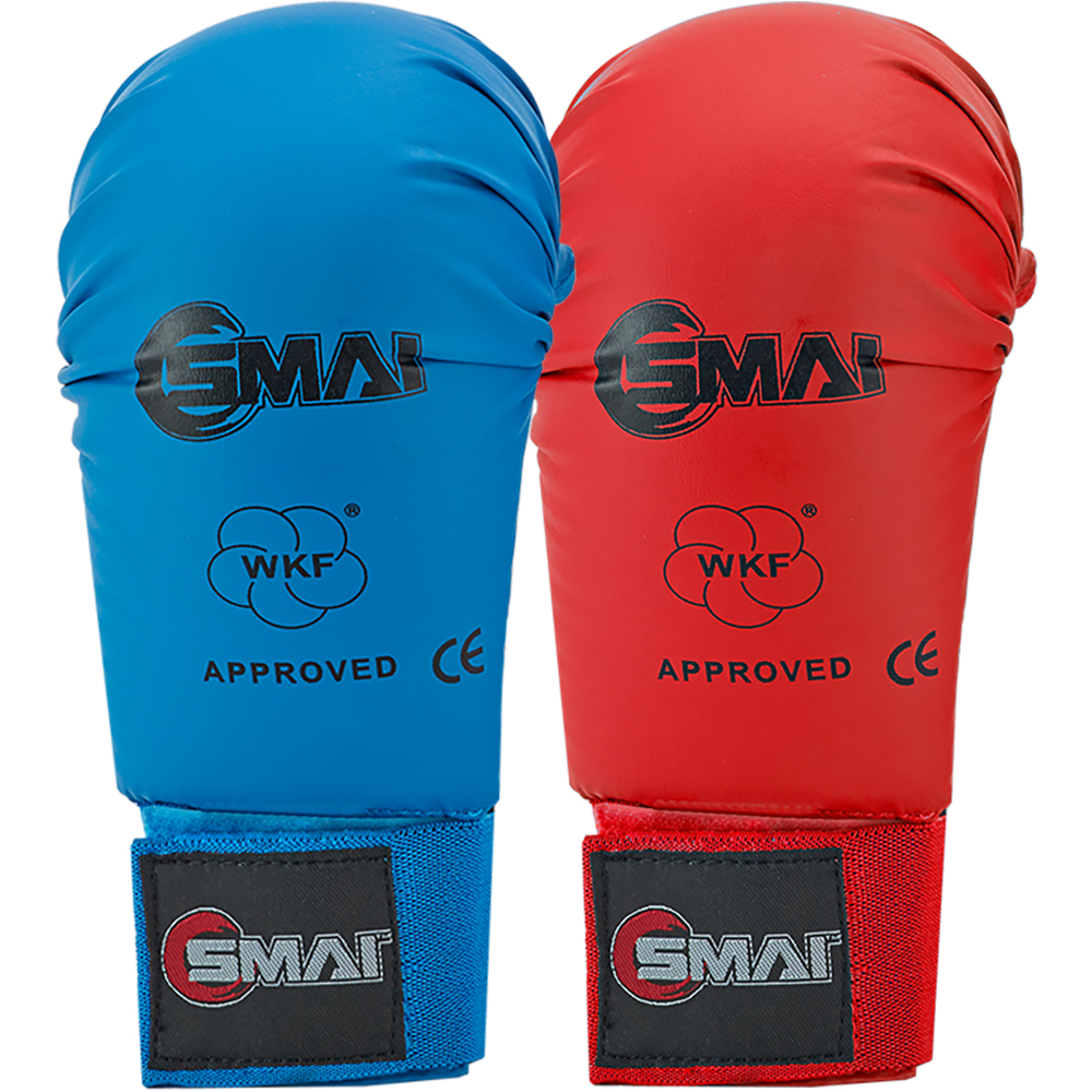 Image of SMAI WKF Approved Mitts Without Thumb