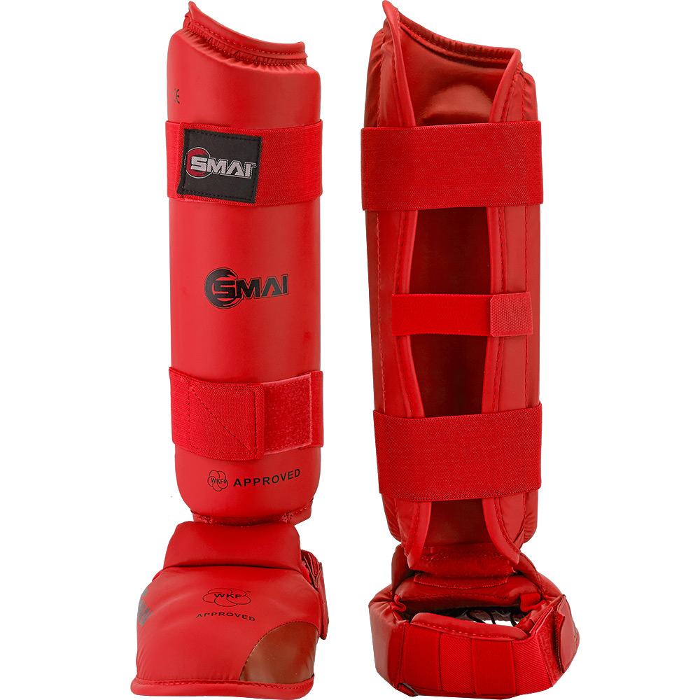 Image of SMAI WKF Approved Shin & Instep Guards