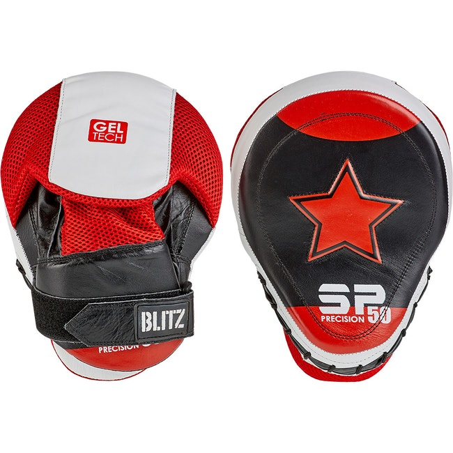 Blitz SP50 Gel Tech Focus Pads - Red