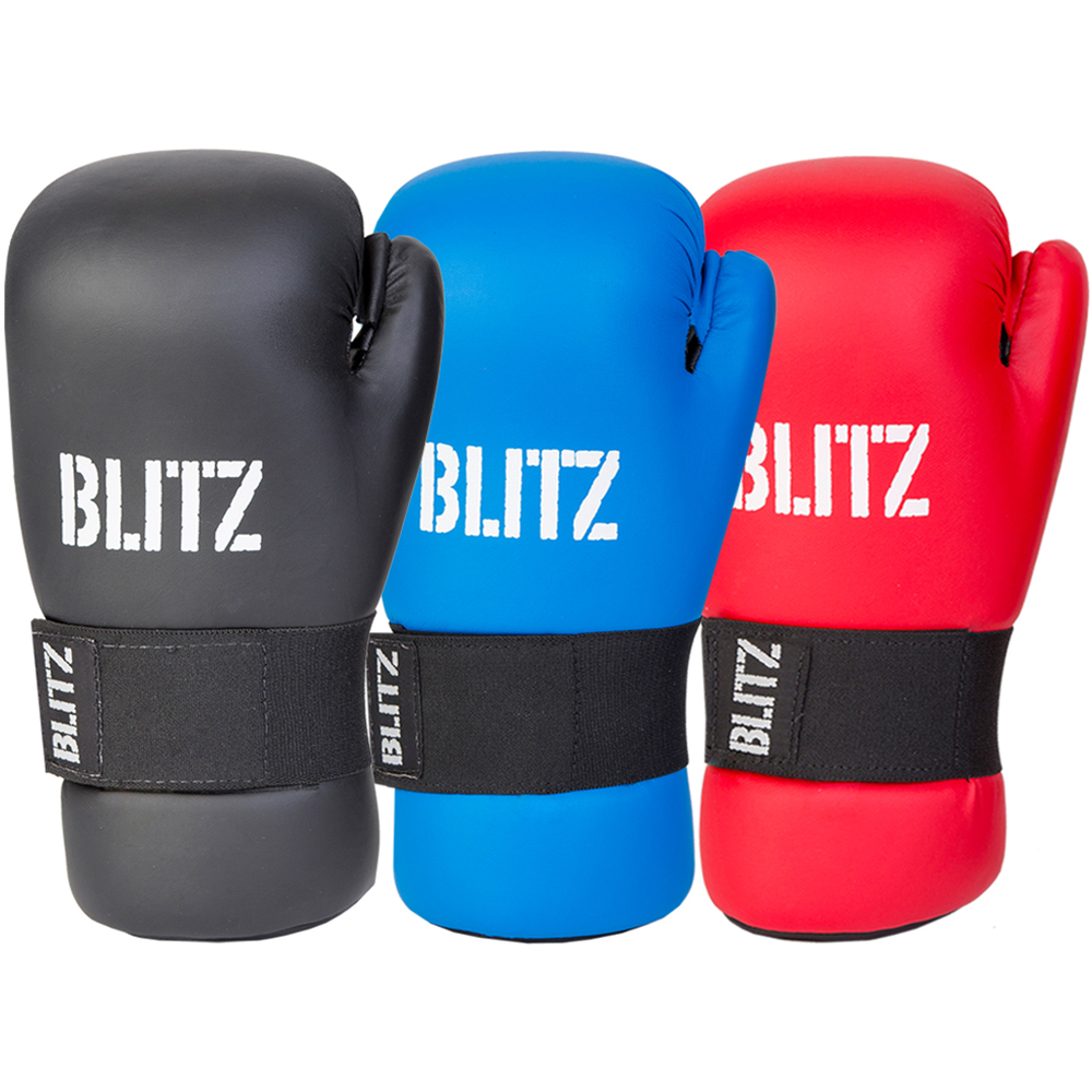 Image of Blitz Semi Contact Open Palm Gloves