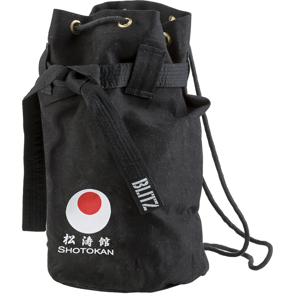 Shotokan Discipline Duffle Bag - Black