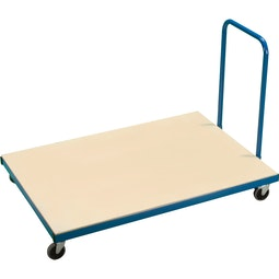 Small Horizontal Mat Trolley
