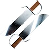 Steel Chinese Butterfly Knives
