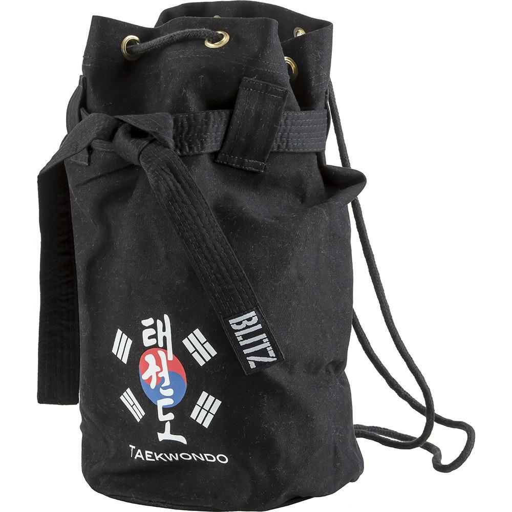 Taekwondo Discipline Duffle Bag - Black