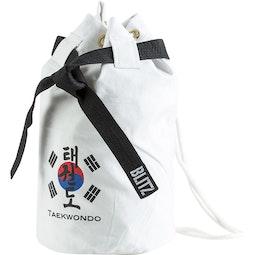 Taekwondo Discipline Duffle Bag - White
