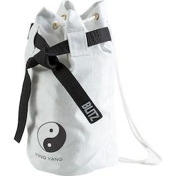 Ying Yang Discipline Duffle Bag - White