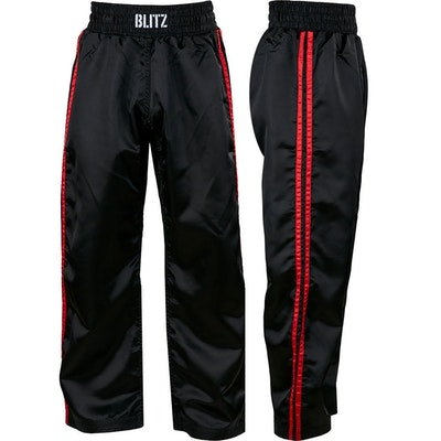 Blitz Adult Classic Satin Full Contact Trousers