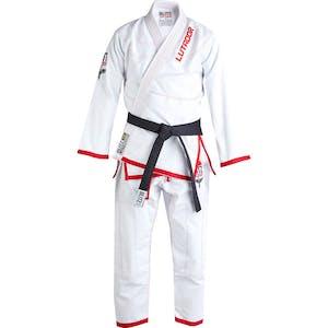 Blitz Adult Lutador Brazilian Jiu Jitsu Gi - White - 550g
