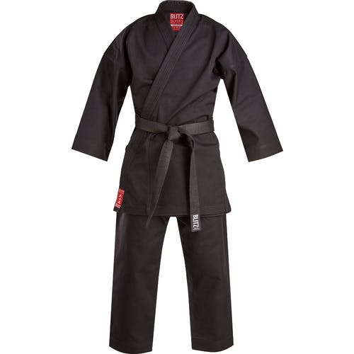 Blitz Adult Silver Tournament Karate Gi - 14oz
