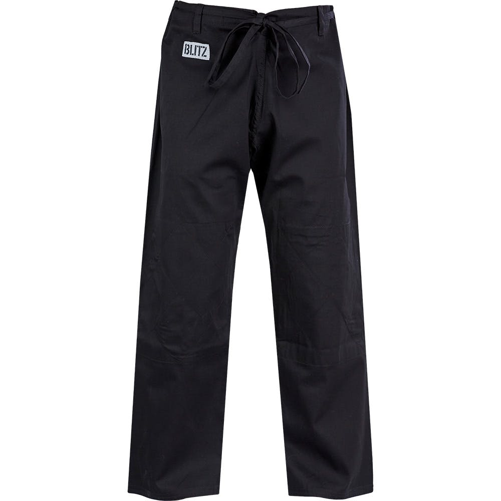 Image of Blitz Adult Student Judo Trousers - Black