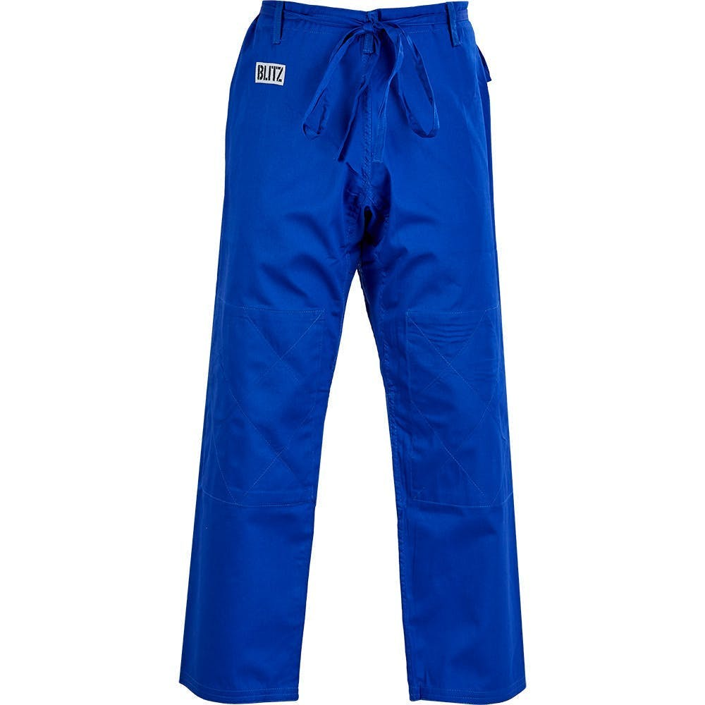 Image of Blitz Adult Student Judo Trousers - Blue