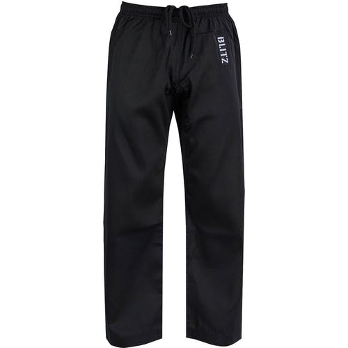 Blitz Adult Student Martial Arts Trousers - 7oz