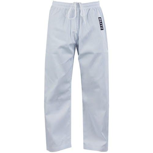 Blitz Adult Student Martial Arts Trousers - 7oz