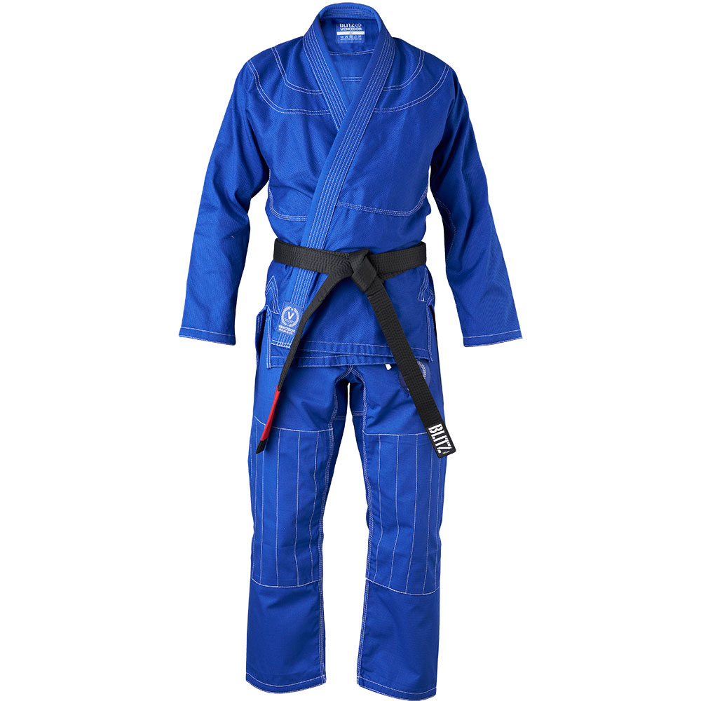 Image of Blitz Adult Vencedor Brazilian Jiu Jitsu Gi - Blue