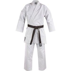 Blitz Adult White Diamond Karate Suit - 14oz