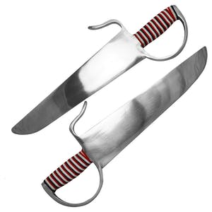 Blitz Aluminium Butterfly Swords