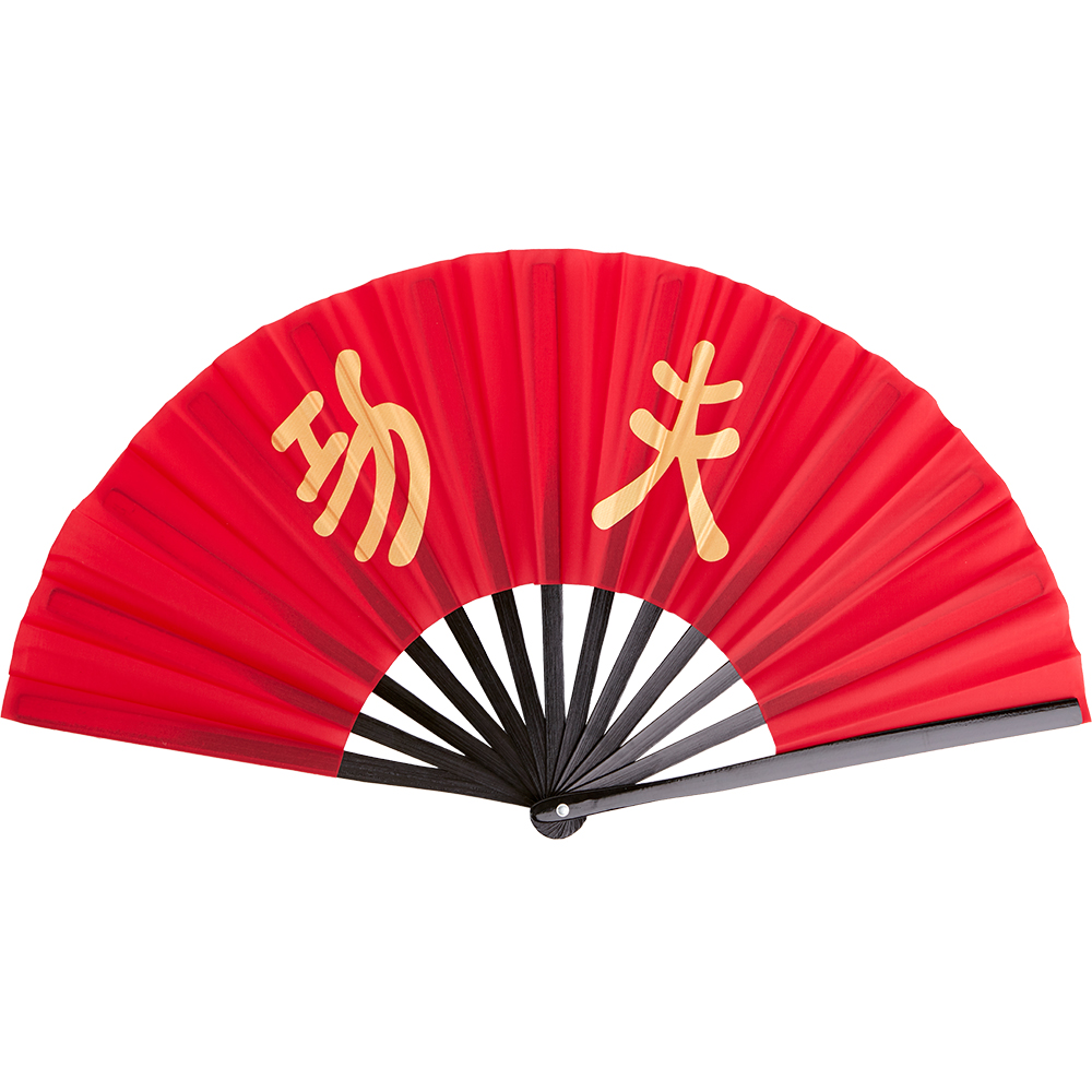 Image of Blitz Bamboo Training Fan - Red
