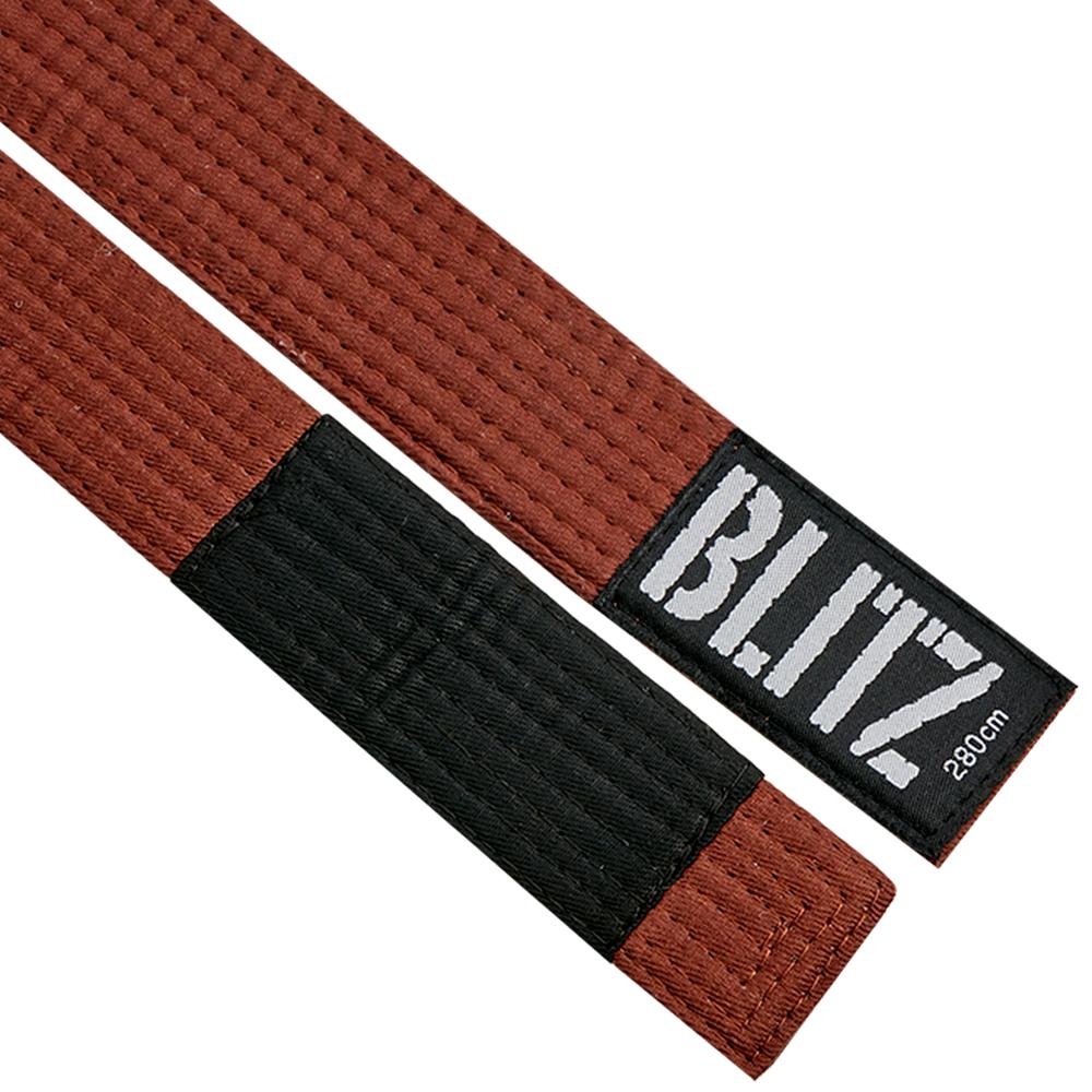 Image of Blitz BJJ Rank Belt - Brown