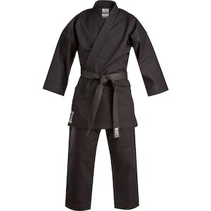 Blitz Black Challenger Karate Suit - 14oz