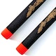 Blitz Black / Red Tip Foam Ball Bearing Nunchaku - Detail 2