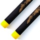 Blitz Black / Yellow Tip Foam Ball Bearing Nunchaku - Detail 2