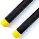 Blitz Black / Yellow Tip Foam Cord Nunchaku - Detail 2