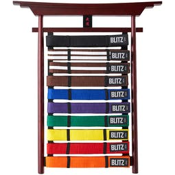 Blitz Budo Belt Display