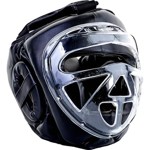 Blitz Clear Protective Visor Head Guard