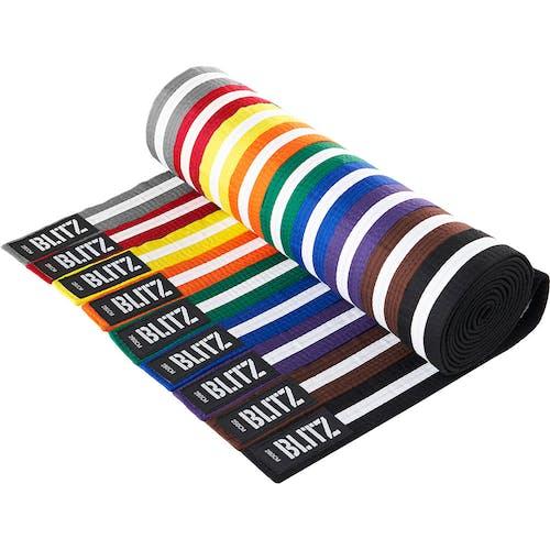 Blitz Colour Belt / White Stripe