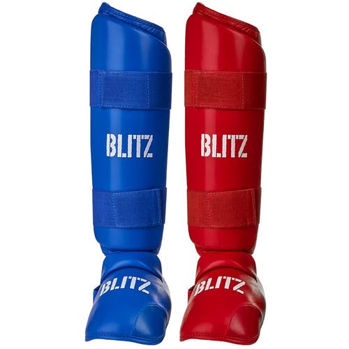Blitz Elite Shin Guards With Removable Foot