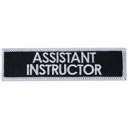 Blitz Embroidered Badge - Assistant Instructor