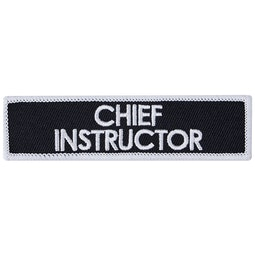 Blitz Embroidered Badge - Chief Instructor