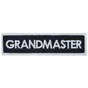 Blitz Embroidered Badge - Grandmaster