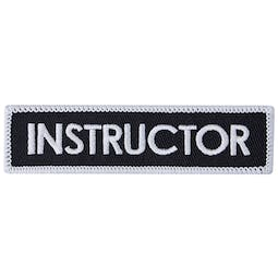 Blitz Embroidered Badge - Instructor