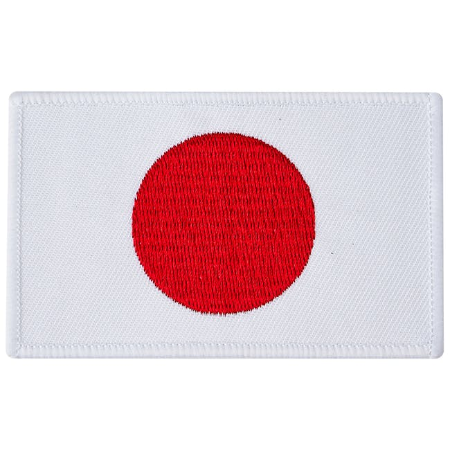 Blitz Embroidered Badge - Japan Flag