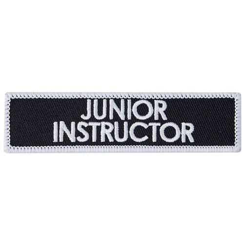 Blitz Embroidered Badge - Junior Instructor