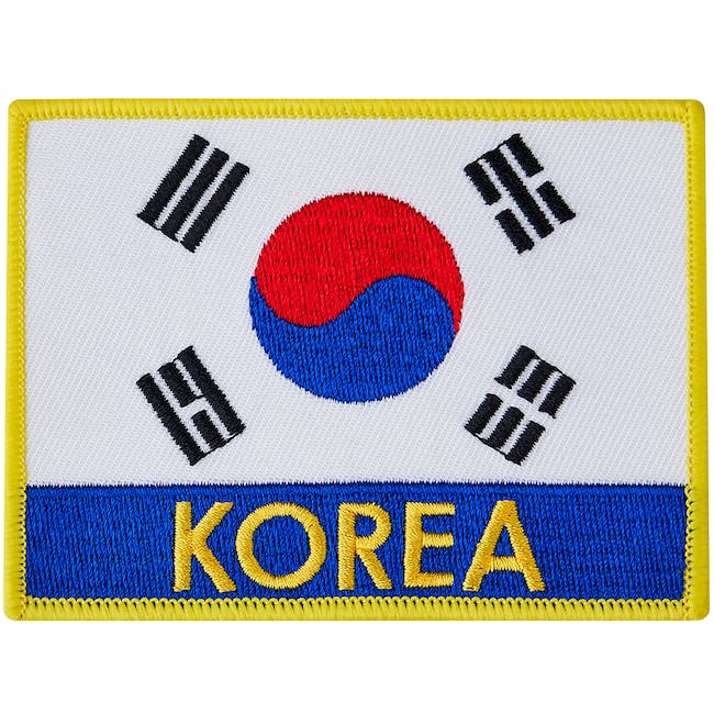 Blitz Embroidered Badge - Korea
