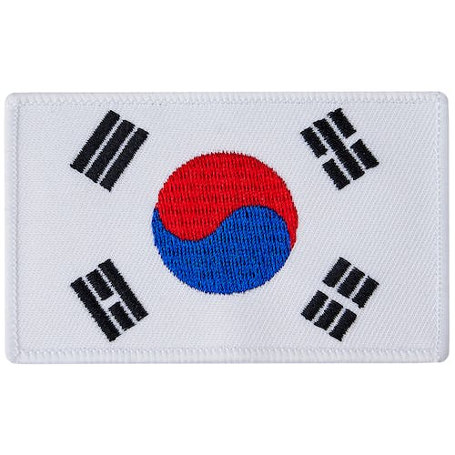 Blitz Embroidered Badge - Korean Flag
