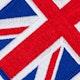 Blitz Embroidered Badge - United Kingdom Flag - Detail 1
