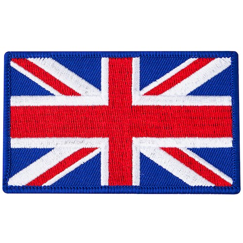Blitz Embroidered Badge - United Kingdom Flag