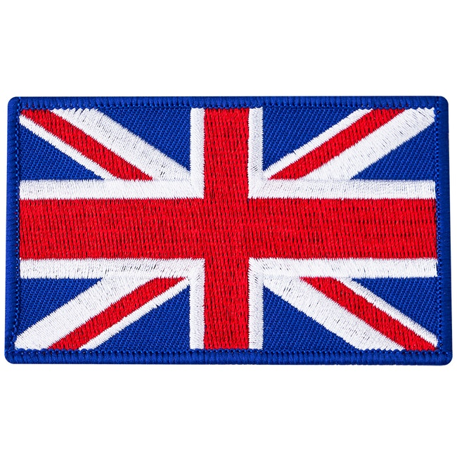 Blitz Embroidered Badge - United Kingdom Flag