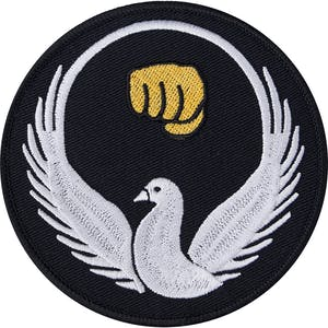 Blitz Embroidered Badge - Wado Ryu