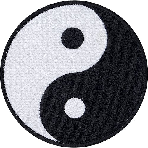 Blitz Embroidered Badge - Yin Yang