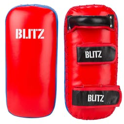 Blitz Firepower Blue / Red Thai Pads