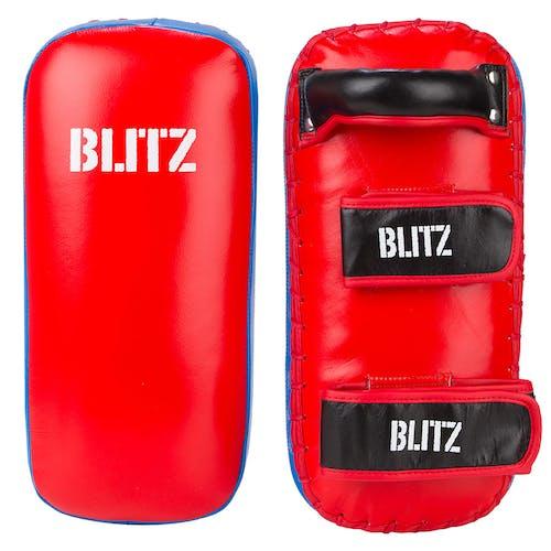 Blitz Firepower Blue / Red Thai Pads