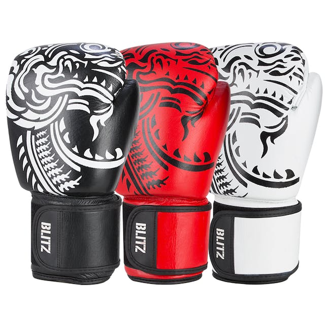 Blitz Firepower Muay Thai Boxing Gloves