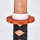Blitz Japanese Red Oak Bokken With Black Handle - Detail 2
