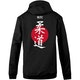Blitz Judo Training Hooded Top in Black - Back