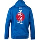 Blitz Judo Training Hooded Top in Blue - Back